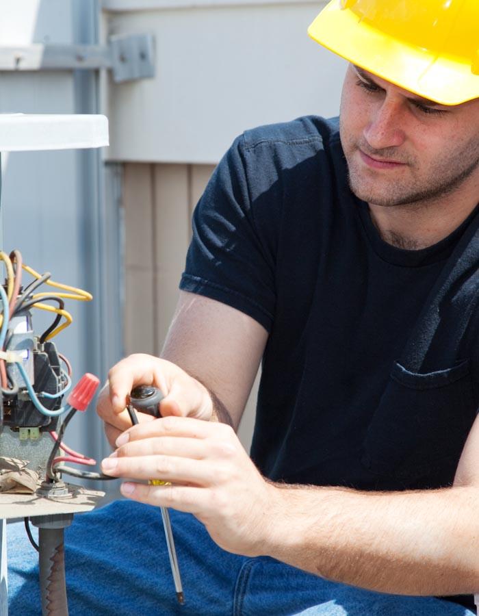 repairing air conditioning service
